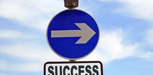 Le signe du succès