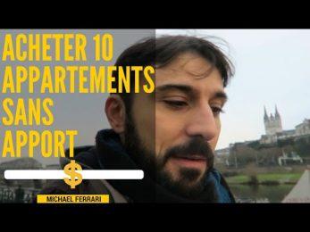 Acheter 10 appartements sans apport