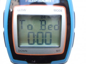 Réglage de l'heure de coucher