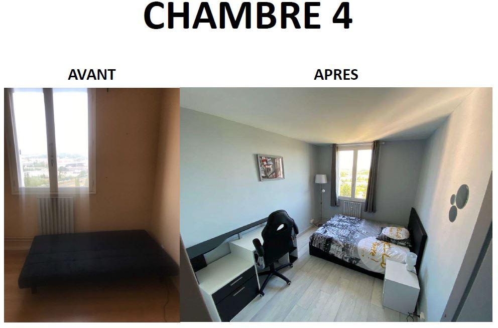Quatrième chambre de la colocation de Laurent.
