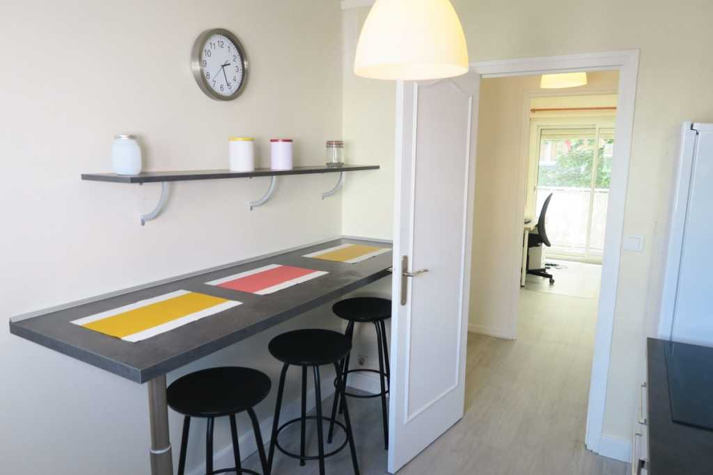 amenagement appartement colocation