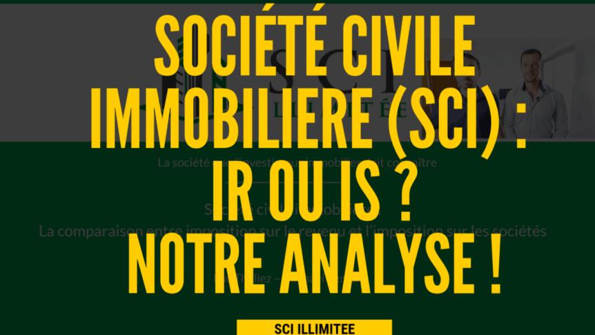 La SCI (Société Civile Immobilière)