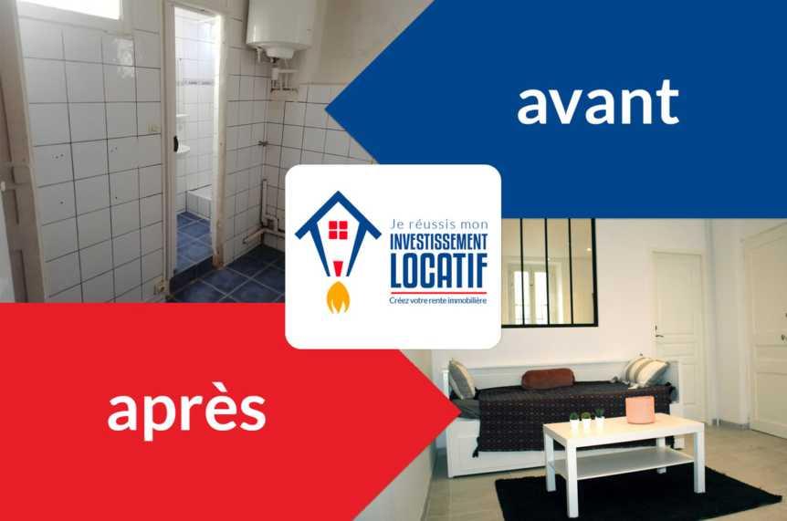L'appartement rénové de Fadil à Toulon - Interview d'un investisseur déterminé