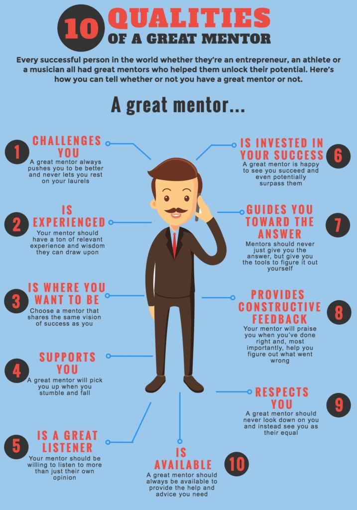 Les qualités d'un bon mentor