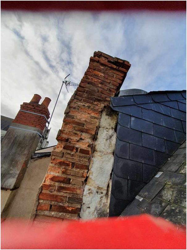 Quand la cheminée menace de s'effondrer