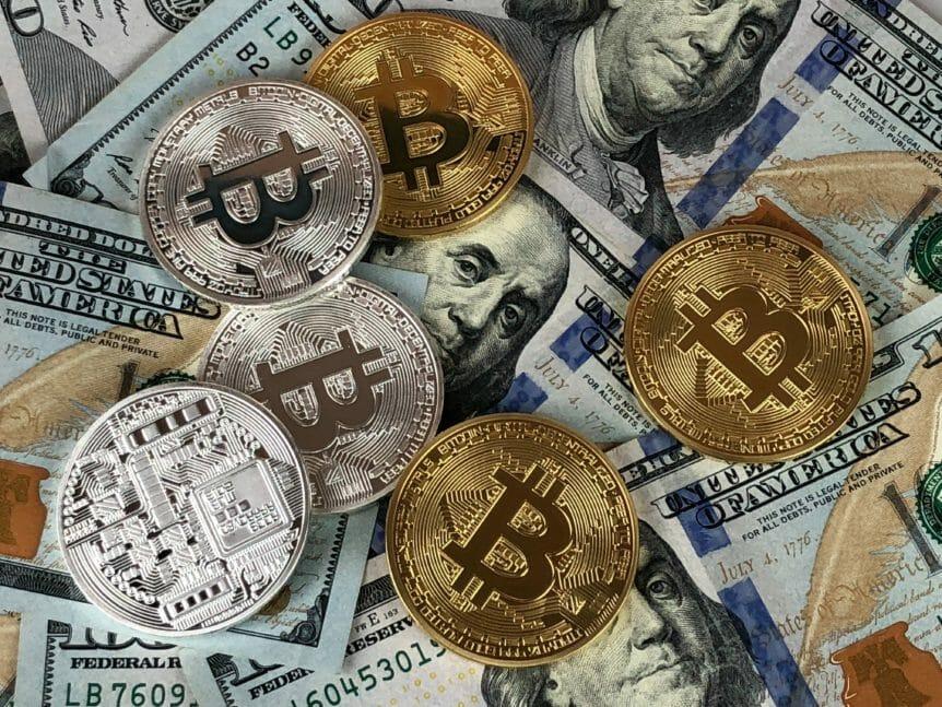 Bitcoin, crypto, billets